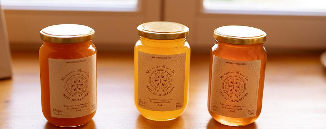 Du miel au monastère!